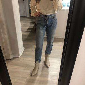 Zara Light Denim Jeans